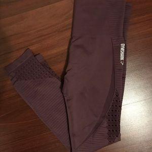 Gymshark Pants - Gymshark Energy Seamless Purple Wash